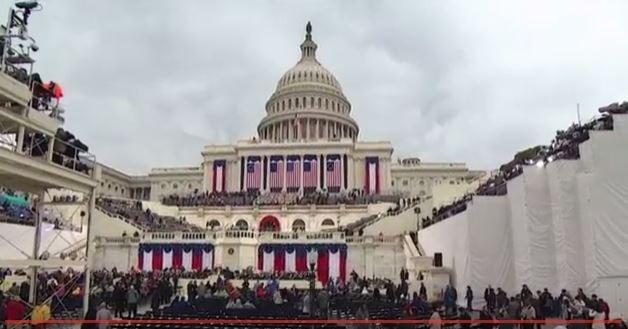 Toàn cảnh lễ tuyên thệ nhậm chức của Tổng thống Mỹ Donald Trump - VIDEO, ẢNH ảnh 1