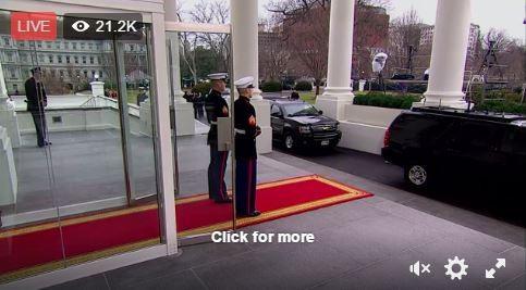 Toàn cảnh lễ tuyên thệ nhậm chức của Tổng thống Mỹ Donald Trump - VIDEO, ẢNH ảnh 17