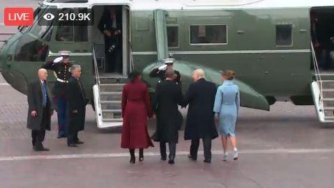 Toàn cảnh lễ tuyên thệ nhậm chức của Tổng thống Mỹ Donald Trump - VIDEO, ẢNH ảnh 108