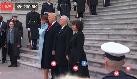 Toàn cảnh lễ tuyên thệ nhậm chức của Tổng thống Mỹ Donald Trump - VIDEO, ẢNH ảnh 111