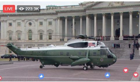 Toàn cảnh lễ tuyên thệ nhậm chức của Tổng thống Mỹ Donald Trump - VIDEO, ẢNH ảnh 113