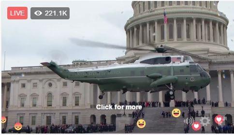 Toàn cảnh lễ tuyên thệ nhậm chức của Tổng thống Mỹ Donald Trump - VIDEO, ẢNH ảnh 114
