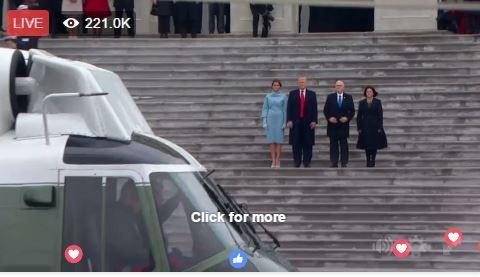 Toàn cảnh lễ tuyên thệ nhậm chức của Tổng thống Mỹ Donald Trump - VIDEO, ẢNH ảnh 112