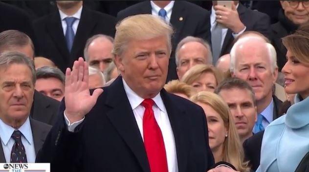 Toàn cảnh lễ tuyên thệ nhậm chức của Tổng thống Mỹ Donald Trump - VIDEO, ẢNH ảnh 87