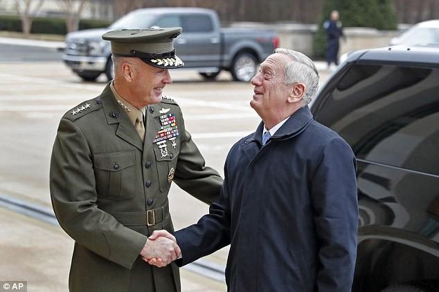 Tướng Mattis đến Lầu Năm Góc trên cương vị Bộ trưởng quốc phòng Mỹ - Ảnh ảnh 1