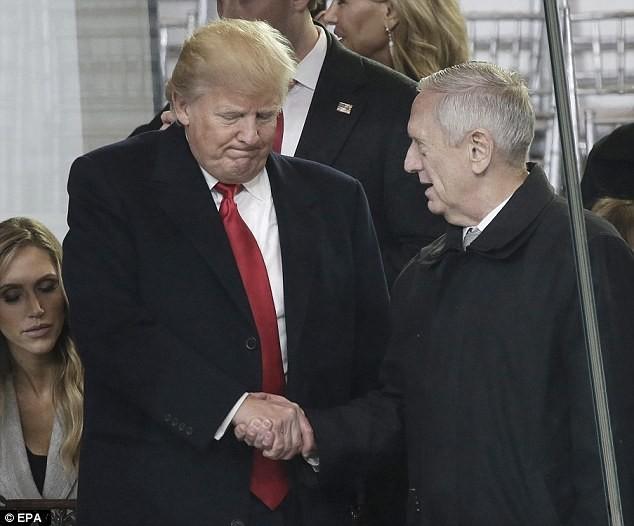 Tướng Mattis đến Lầu Năm Góc trên cương vị Bộ trưởng quốc phòng Mỹ - Ảnh ảnh 3