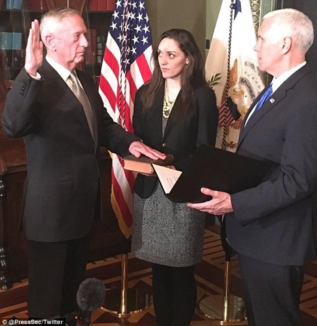 Tướng Mattis đến Lầu Năm Góc trên cương vị Bộ trưởng quốc phòng Mỹ - Ảnh ảnh 4