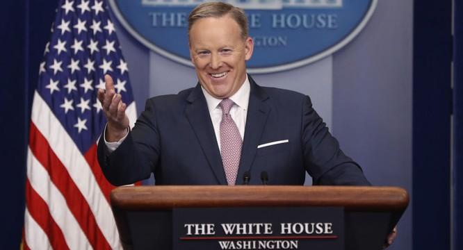 Thư ký báo chí Nhà Trắng Sean Spicer