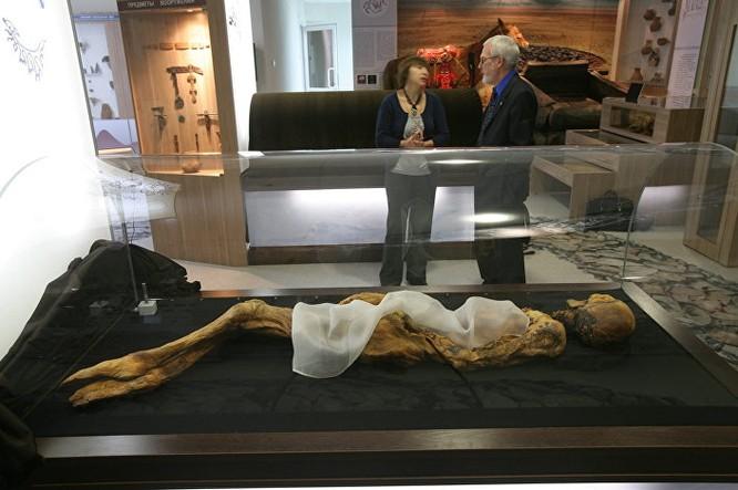 Phát hiện mới từ trong xác ướp Công chúa Altai ảnh 1
