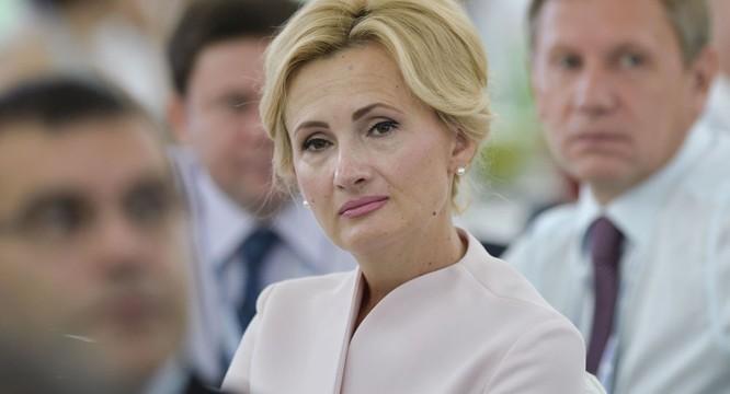 Phó Chủ tịch Duma Quốc gia Nga Irina Yarovaya