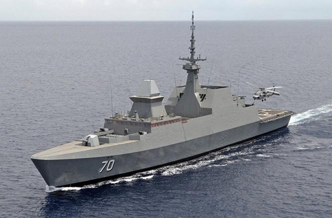 Chiến hạm RSS Steadfast số hiệu 70 của Hải quân Singapore