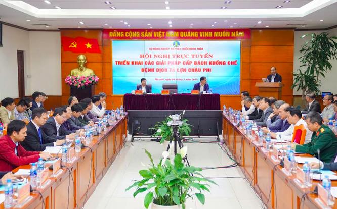 Thủ tướng Chính phủ Nguyễn Xuân Phúc phát biểu chỉ đạo hội nghị