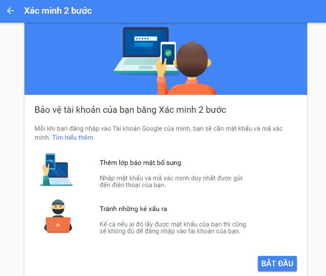 Làm sao tránh người khác hack tài khoản Gmail của bạn ảnh 2