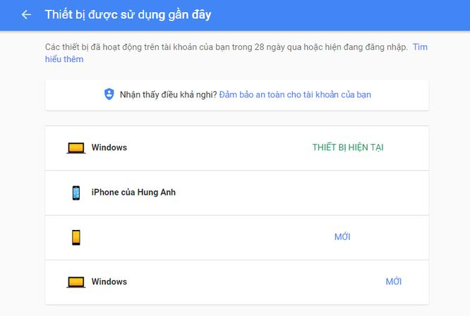 Làm sao tránh người khác hack tài khoản Gmail của bạn ảnh 5