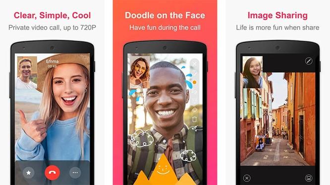 Top 10 ứng dụng gọi video dành cho Android không thể bỏ lỡ (Phần 1) ảnh 4