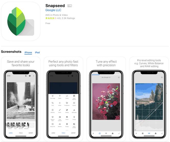 Top những ứng dụng chỉnh sửa ảnh tốt nhất cho iPhone (Phần 1) ảnh 1