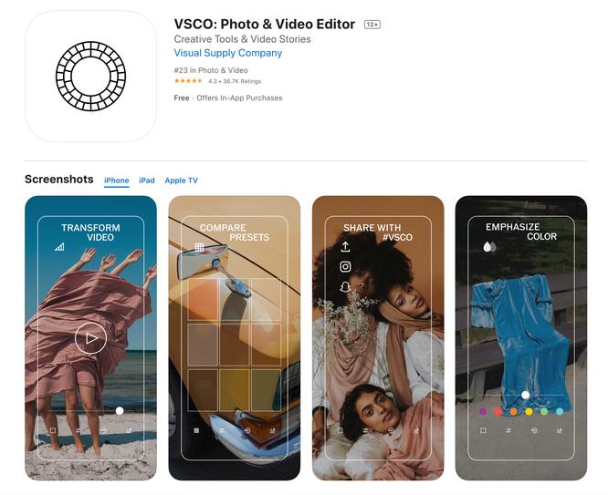 Top những ứng dụng chỉnh sửa ảnh tốt nhất cho iPhone (Phần 2) ảnh 1