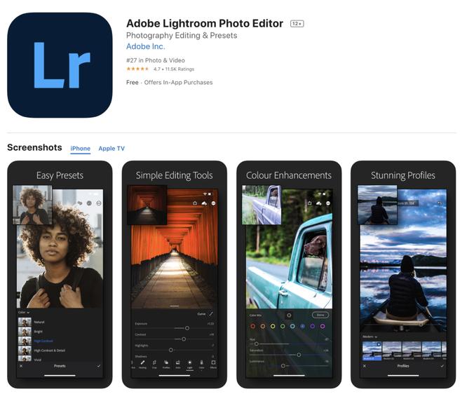 Top những ứng dụng chỉnh sửa ảnh tốt nhất cho iPhone (Phần 3) ảnh 2