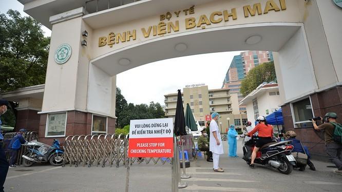 4-5.000 người liên quan đến Bệnh viện Bạch Mai chưa khai báo, lấy mẫu xét nghiệm COVID-19 ảnh 1