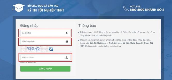 Tra cứu online điểm thi thi tốt nghiệp THPT năm 2020 tỉnh Bến Tre ảnh 1