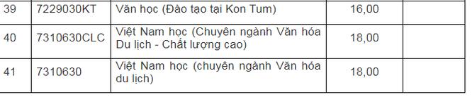 Cập nhật điểm chuẩn trường Đại học Sư phạm – Đại học Đà Nẵng năm 2020 ảnh 6