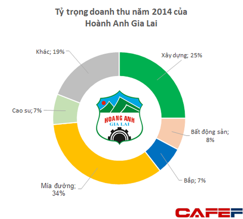 Hoàng Anh Gia Lai: Mía đường đóng góp 34% doanh thu, năm 2014 lãi ròng 1.475 tỷ đồng ảnh 2