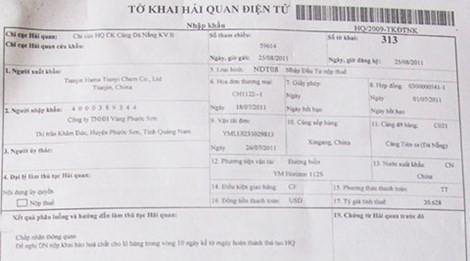 Mua bán với doanh nghiệp Trung Quốc: bỏ tiền tỷ, nhận về container sỏi đá ảnh 1