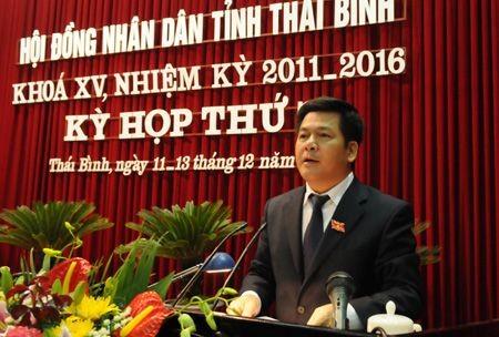 Ông Nguyễn Hồng Diên được bầu giữ chức danh Chủ tịch UBND tỉnh Thái Bình