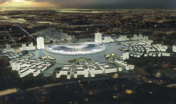 ingroup phải chi 4.000 tỷ đồng để xây dự án Triển lãm Nhật Tân – Nội Bài