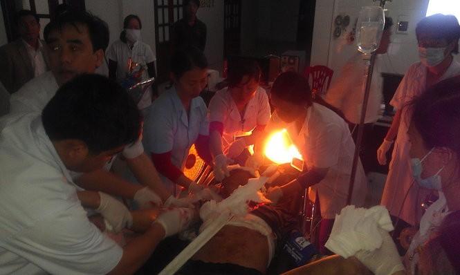 Sập giàn giáo công trường Formosa Hà Tĩnh, 13 người chết ảnh 3