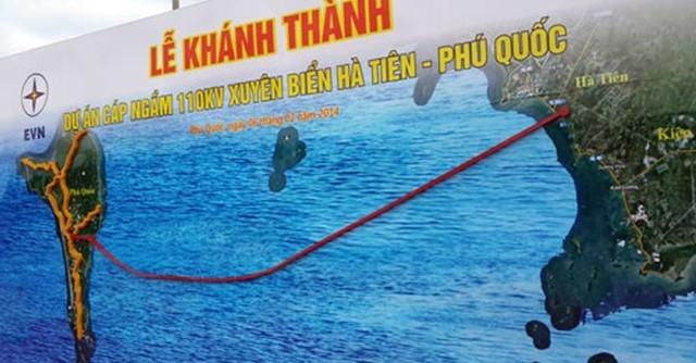 Tuyến cáp điện nghìn tỷ đã hoàn thành 2014, Phú Quốc đã có điện lưới quốc gia phát triển kinh tế