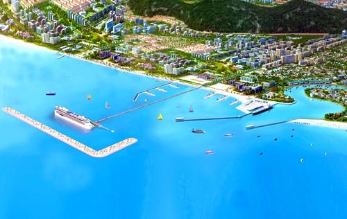 Phối cảnh dự án cảng biển du lịch Phú Quốc