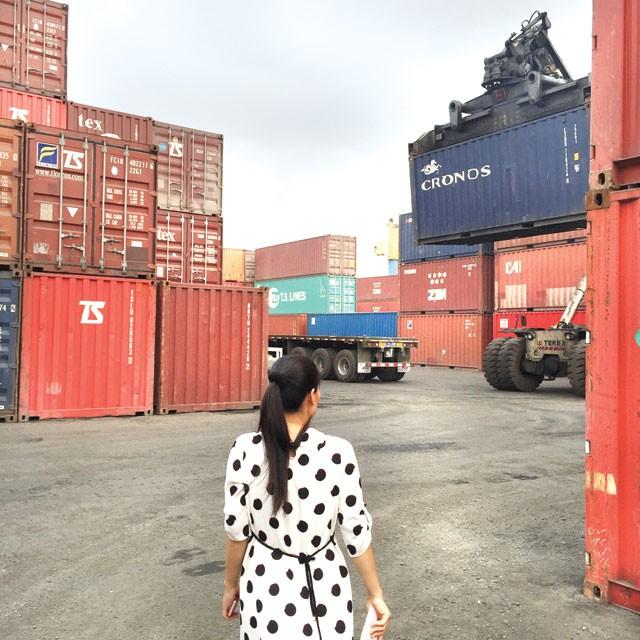 Cảng Hải Nam, nơi có container hàng của chị Thoa