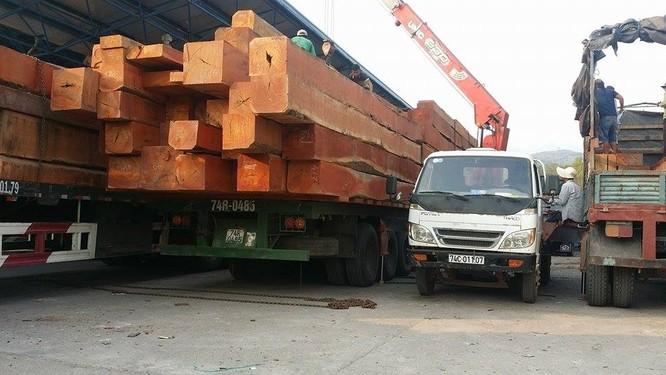 Hàng trăm xe gỗ ùn ứ ở Cửa khẩu Quốc tế Lao Bảo ảnh 7
