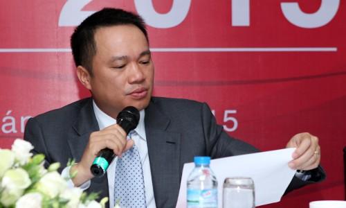 Chủ tịch Techcombank - Hồ Hùng Anh cho biết việc chia cổ tức, nếu sớm, có thể diễn ra trong vòng 3-5 năm tới.