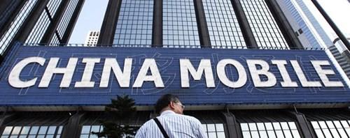 China Mobile, một trong những tập đoàn viễn thông có giá trị vốn hóa thị trường lớn nhất thế giới - Ảnh: Reuters
