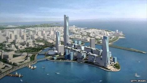 Mô hình dự án KAEC trị giá 100 tỉ USD.