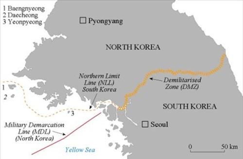 Hàn Quốc tố Triều Tiên xây trại quân sự trên đảo tiền tiêu ảnh 1