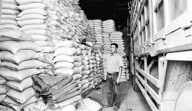 Theo thống kê của Sở Công thương Lào Cai, hiện còn khoảng 40-50 nghìn tấn gạo đang bị ùn tắc trong các kho chứa tạm và trên xe ô-tô tại cửa khẩu phụ Bản Vược và lối mở Bản Quẩn.