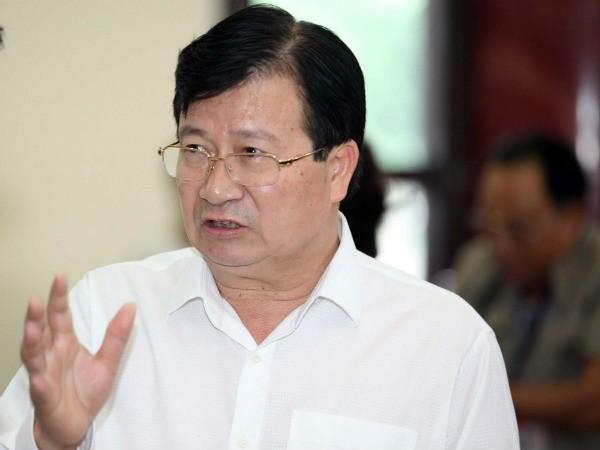 Bộ trưởng Bộ Xây dựng Trịnh Đình Dũng