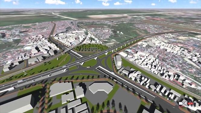Soi tiến độ 3 dự án giao thông nghìn tỷ của Hà Nội ảnh 1