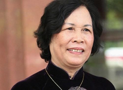Bộ trưởng Phạm Thị Hải Chuyền.