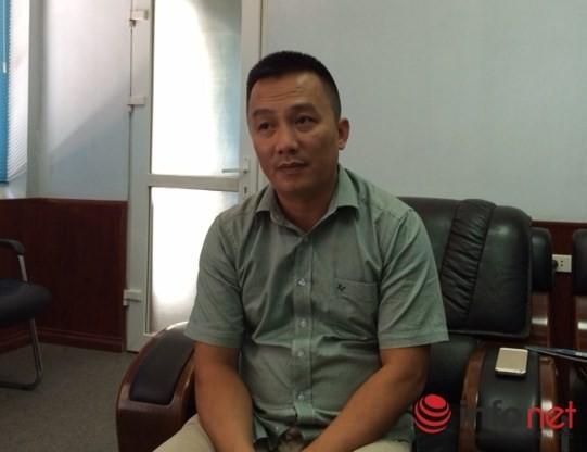 Ông Hoàng Ngọc, Giám đốc Công ty CP Đầu tư và Xây dựng 573