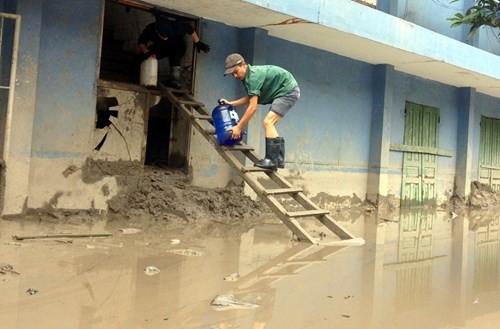Nhiều vựa than tan hoang sau mưa lũ ở Quảng Ninh ảnh 6