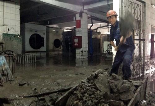 Nhiều vựa than tan hoang sau mưa lũ ở Quảng Ninh ảnh 9