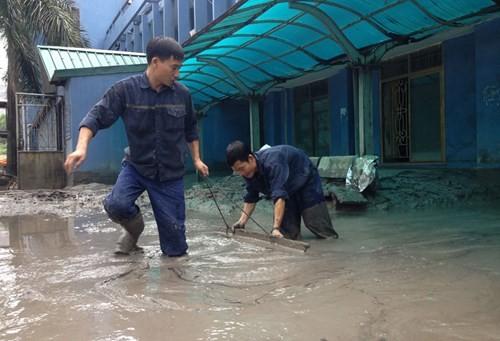 Nhiều vựa than tan hoang sau mưa lũ ở Quảng Ninh ảnh 10