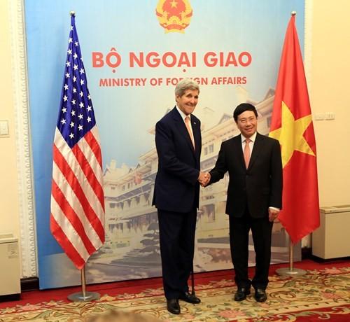 Thảo luận hợp tác an ninh biển Việt Nam - Hoa Kỳ ảnh 1