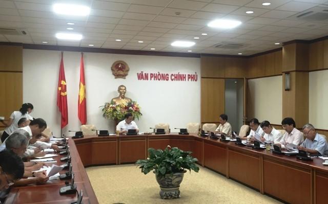 Phó Thủ tướng Hoàng Trung Hải yêu cầu tập trung xử lý những dự án cấp thiết như nhiệt điện Vĩnh Tân.