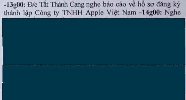 Apple sắp mở công ty tại Việt Nam? ảnh 1