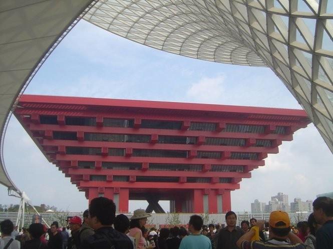 """Bảo tàng Hà Nội """"y chang"""" bảo tàng Trung Quốc? ảnh 1"""